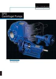 SPD Centrifugal Pumps - Union Supplies