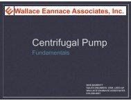 Centrifugal Pump - ASHRAE Bi-State Chapter
