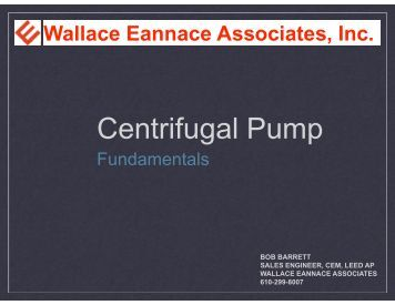 Centrifugal Pump - ASHRAE Bi-State Chapter