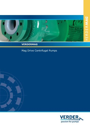 Mag Drive Centrifugal Pumps