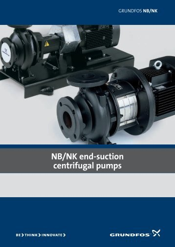 NB/NK end-suction centrifugal pumps - Grundfos