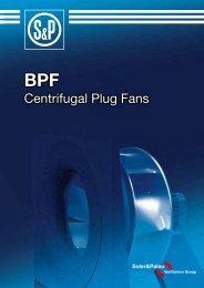 Centrifugal Plug Fans - Soler & Palau