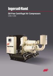 Oil-Free Centrifugal Air Compressors