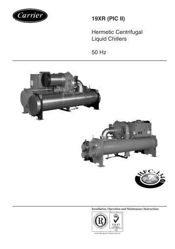 york millennium screw chiller manual
