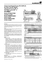 Page 1 Imo Delaval Inc  INSTRUCTIONS and PARTS LIST SERIES