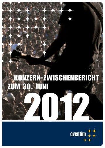 6-Monatsbericht 2012 - Ticketcorner
