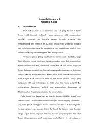 SEMANTIK STRUKTURAL - Direktori File UPI