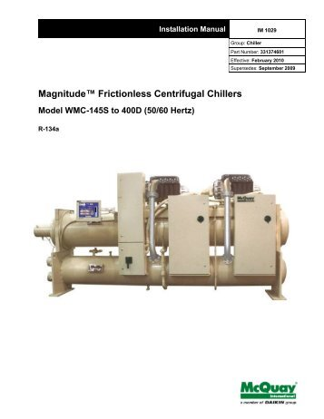 Microtech ii for centrifugal chillers operating manual mcquay magnitude frictionless centrifugal chillers mcquay international cheapraybanclubmaster Choice Image
