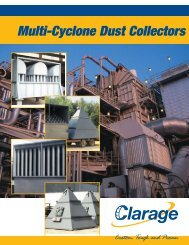 Multi-Cyclone Dust Collectors - Clarage