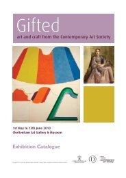 Gifted - Cheltenham Art Gallery & Museum