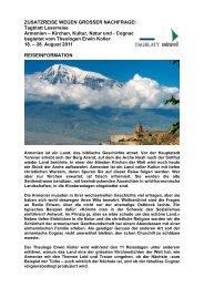 ARMENIEN - St. Galler Tagblatt