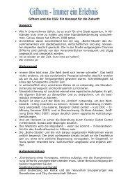 Gifhorn und die CGG: Ein Konzept für die Zukunft ... - Stadt Gifhorn