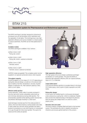 alfa laval separator pdf