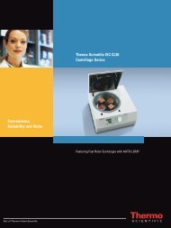 Thermo Scientific IEC CL30 Centrifuge Series Convenience ...