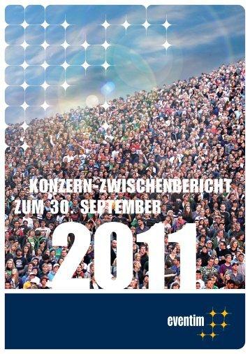 9-Monatsbericht 2011 - Eventim
