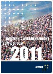6-Monatsbericht 2011 - Eventim