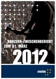 3-Monatsbericht 2012 - Eventim