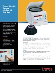 Thermo Scientific Heraeus Labofuge 200 Centrifuge - TS Labor