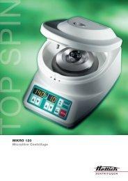 MIKRO 120 Microlitre Centrifuge - PRO Scientific Inc.