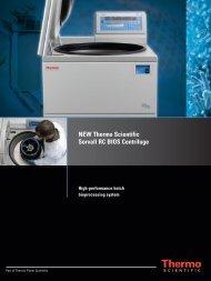 NEW Thermo Scientific Sorvall RC BIOS Centrifuge - Ninolab