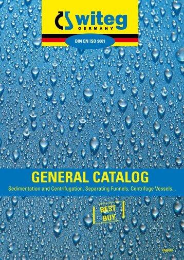 Sedimentation and Centrifugation - Witeg