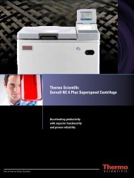 Thermo Scientific Sorvall RC 6 Plus Superspeed Centrifuge