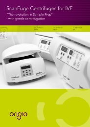 ScanFuge Centrifuges for IVF - LaboGene