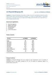mi-Plasmid Miniprep Kit - Metabion