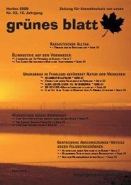 Ausgabe 2/2009 - Projektwerkstatt