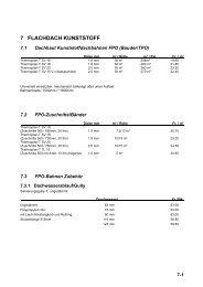 7 FLACHDACH KUNSTSTOFF - Tilag AG