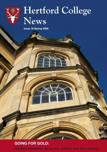 Issue 16 - Hertford College - University of Oxford