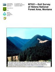 MT631—Soil Survey of Helena National Forest Area, Montana