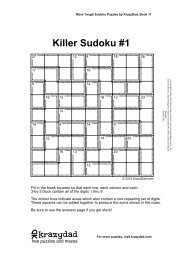 photo about Krazydad Printable Sudoku known as Outrageous Sudoku Puzzles, Guide 41 - KrazyDad