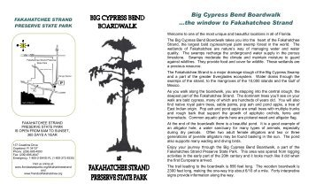 Big Cypress Bend Boardwalk - Friends of Fakahatchee