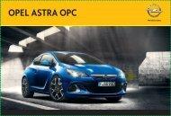 Prospekt Opel Astra OPC