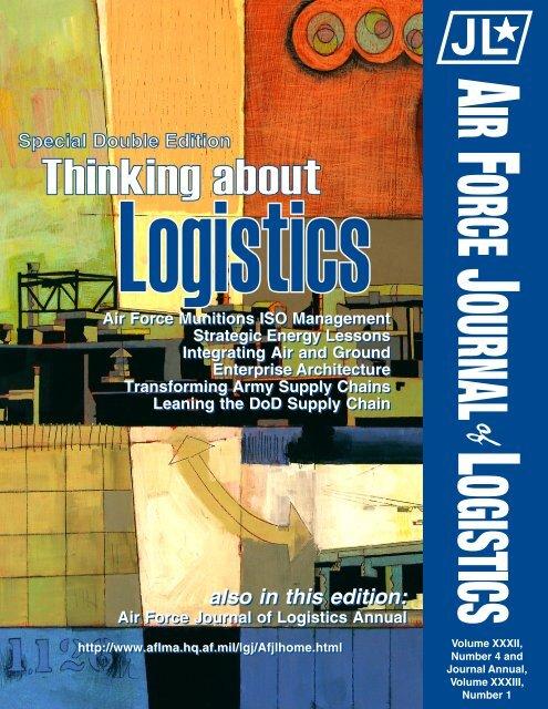 Vol 32 No 4 - AF Logistics Management Agency