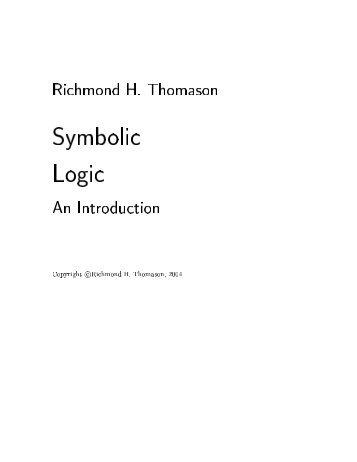 Richmond H. Thomason, 2004 - Ingeniería de Sistemas (Unefa Zulia)