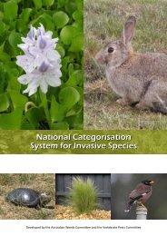 National Categorisation System for Invasive Species - Weeds Australia