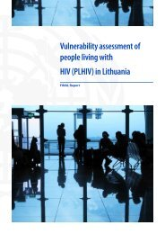 Vulnerability assessment of people living with HIV - United Nations ...