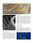 the art of EFFICIENCY - The Bergren Associates - Page 2