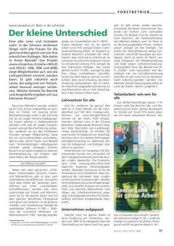 Der kleine Unterschied - Textbildungwald.ch