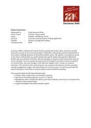 Senior Caseworker Job Description and Person specification 2013