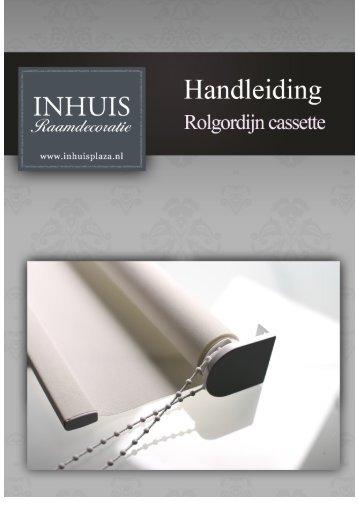 Rolgordijn met casette - INHUIS Raamdecoratie