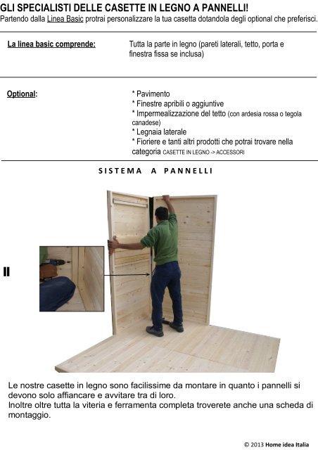 Gli Specialisti Delle Casette In Legno A Pannelli Home