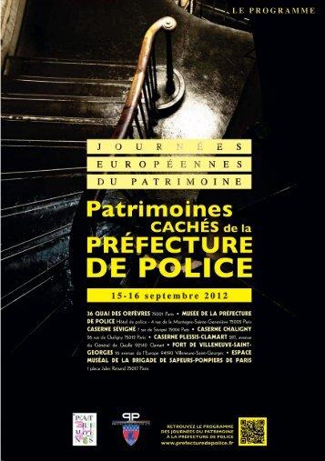 LE PROGRAMME - Préfecture de Police de Paris