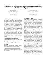 Scheduling on Heterogeneous Multicore Processors Using ...