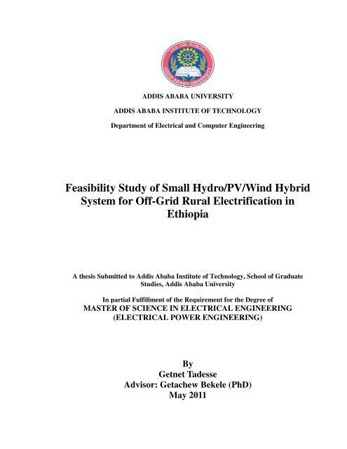 Getnet Tadesse pdf - Addis Ababa University