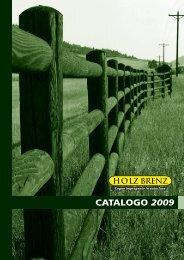 CATALOGO 2009 - Holz Brenz