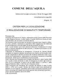 criteri casette - Regione Abruzzo