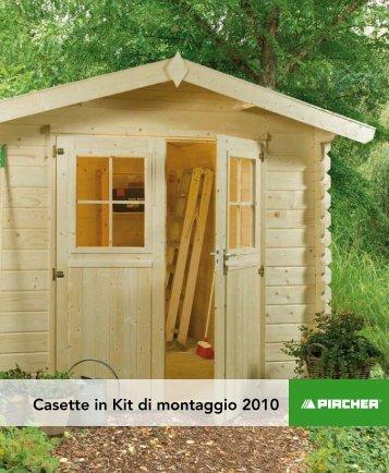 6 casette in legno new ko for Tre kit di garage per auto